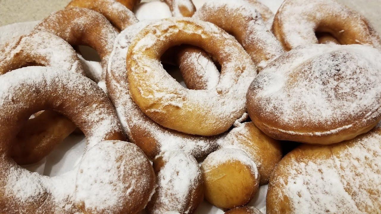 пончики рецепт без яиц и молока