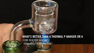 Puffing Bird™ Thermal Core Reactor Hybrid Quartz P Banger - Intro/Review
