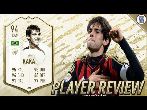 94 ICON MOMENTS KAKA PLAYER REVIEW! - FIFA 20 ULTIMATE TEAM
