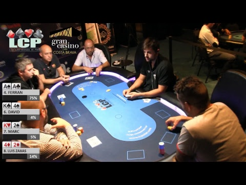 Mesa Final del Main Event de la LCP Gran Casino Costa Brava #1