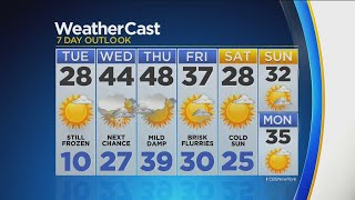 CBS2 1/21 Evening Forecast at 5PM