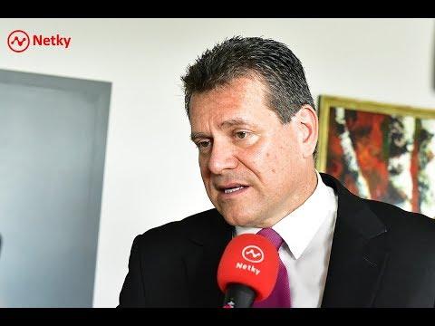 Eurokomisár Maroš Šefčovič predstavil plán na zníženie emisií