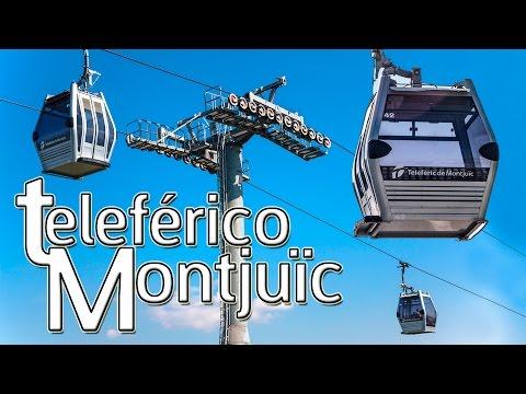 Teleférico de Montjuïc en Barcelona