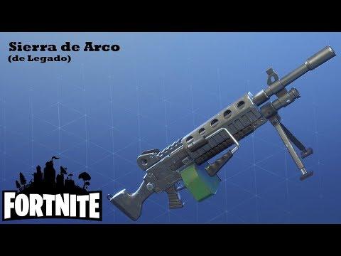Balas para aburrir / Sierra de Arco (De Legado)   Fortnite: Salvar el Mundo #99