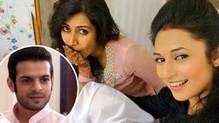 Divyanka Tripathi CANNOT DANCE at Karan Patel