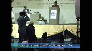 Highlights of MKA UK Ijtema 2010 - Day 1