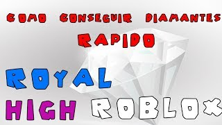 Roblox Royal High How to Get RAPID Diamonds