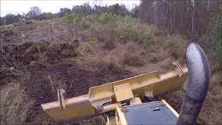 Clearing With The Dozer