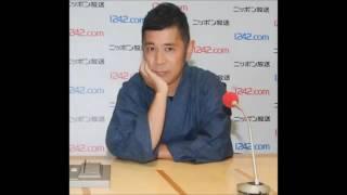 岡村がめちゃイケのドッキリ企画でマジギレした哀川翔に謝罪の電話をし...