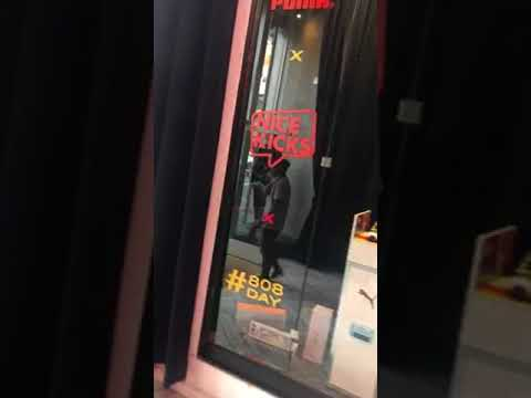"Dj j12 new Kamaiyah ""Addicted To Ballin"" was Inside nice kicks(Puma promotions event) San Fransico"