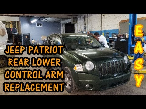 2018 Jeep Patriot Replaced With The New Compass >> How To Replace Rear Lower Control Arm 2007 2017 Jeep Compass