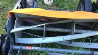 Fiskars mower problem