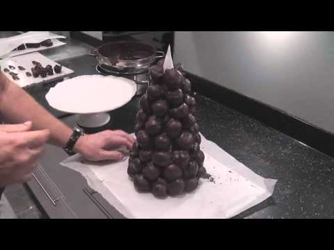 Croquembouche - Part 7 - Assembling The Cake