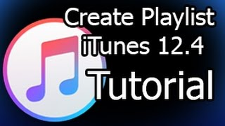 how to Create Playlist and Transfer it to iPhone iTunes 12.4