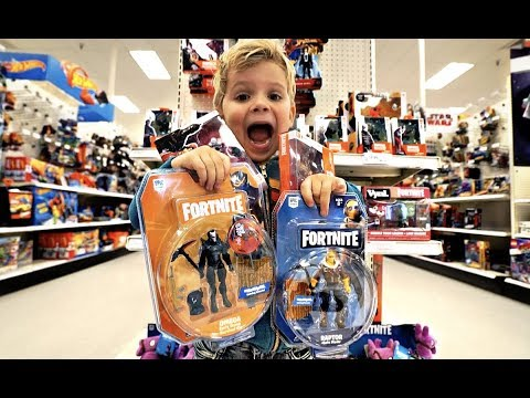 4 Year Old Tydus FORTNITE TOYS REVIEW!!