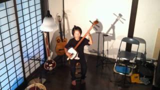 珠洲 湯宿「さか本」でのライブ。