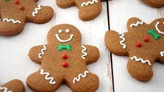 Biscotti Omini Di Pan Di Zenzero , Gingerbread Man Cookies