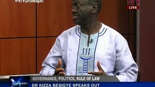 On The Spot: Dr. Kizza Besigye discusses various political and governance issues