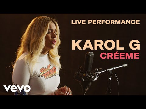 "Karol G - ""Créeme"" Official Live Perfomance | Vevo"