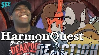 HarmonQuest Trailer & Paul F. Tompkins is on Fire REACTION!