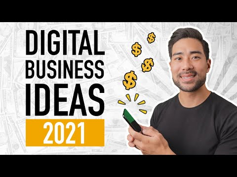 7 Profitable DIGITAL PRODUCT IDEAS 2021 // BUSINESS IDEAS 2021 and Digital Products To Sell Online