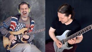ШРЕД против мелодичного СОЛО на электрогитаре