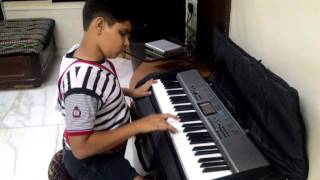 Ajeeb dastan hai ...on piano by Aryan Pandit.