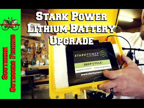 Stark Power Lithium Battery Upgrade ~ Lowrance Elite 5 Ti