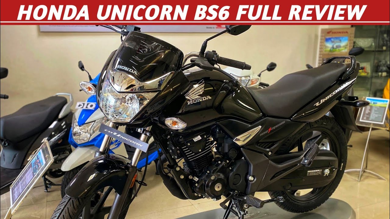 Honda Unicorn 160 BS6 Detailed Review | New Family Bike | Price, Features, Mileage | K2K Motovlogs
