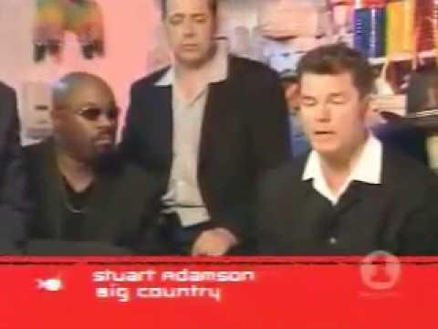 BIG COUNTRY - STUART ADAMSON - US TV