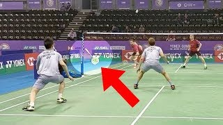 10 Badminton Shots.  F It Was Not Recorded Nobody Would Believe