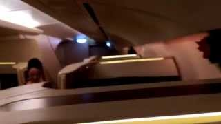 singapore airline first class jfk fra sin 380