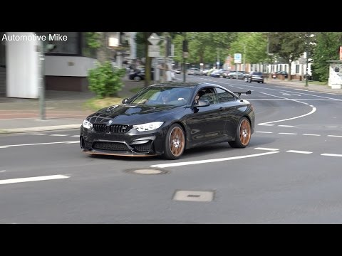 EXCLUSIVE | FIRST BMW M4 GTS filmed on the road in Düsseldorf