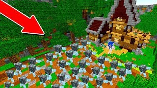 10.000 MINÉRIOS DIAMANTE VS. CASA MAIS PROTEGIDA DE TODAS (MINECRAFT)