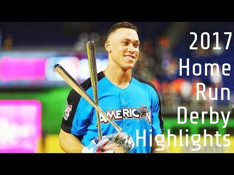 2017 MLB HOME RUN DERBY HIGHLIGHTS