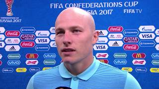 Aaron Mooy Post-Match Interview - Match 4: Australia v Germany - FIFA Confederations Cup 2017
