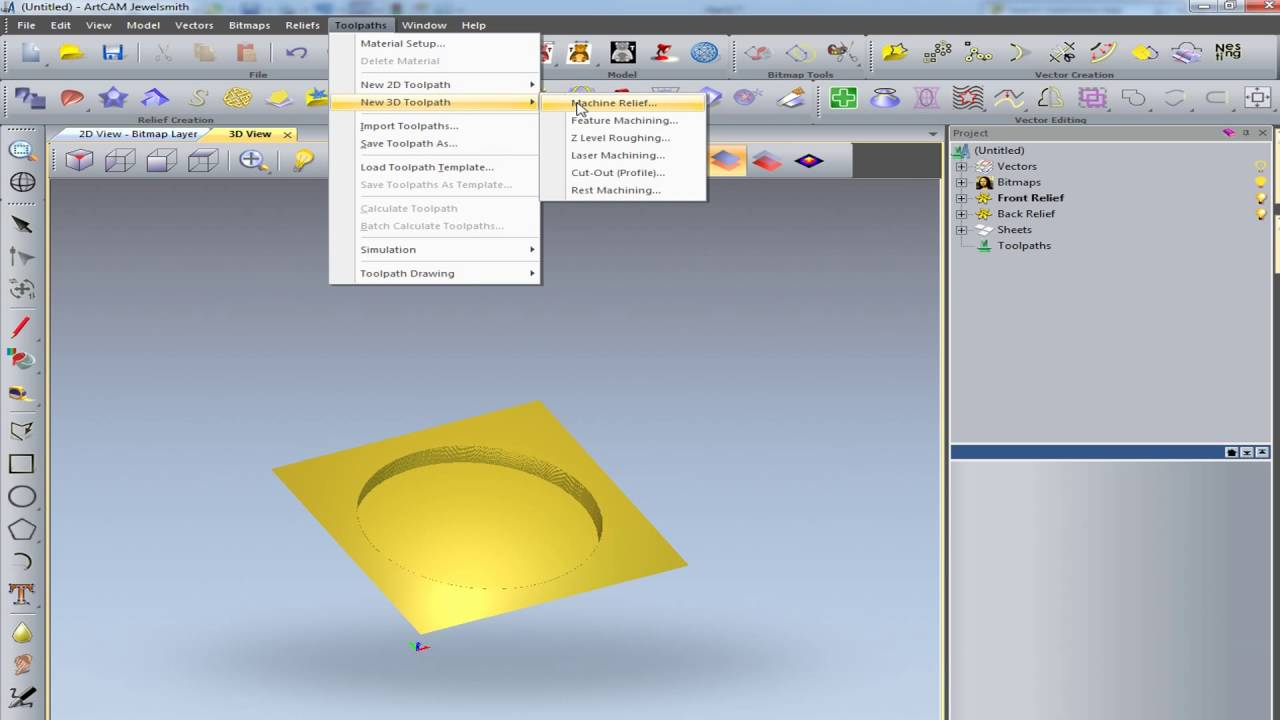 Solidwork 3D to artcam 2011 and Mach3 - hmong video