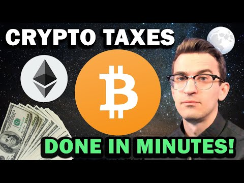 CRYPTO TAXES DONE IN MINUTES!!