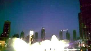 testing of Dubai Fountain
