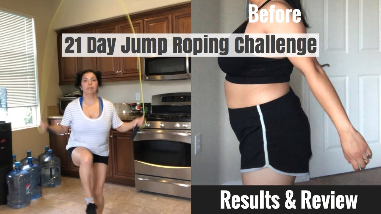21 Day Jump Roping Challenge Results Review Fitness Challange Youtube