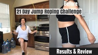 21 Day Jump Roping Challenge Results & Review | Fitness Challange