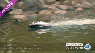 DX:UDIR/C UDI001 Wireless Remote Control Boat / Speed Boat Shatterproof Model