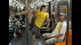 Crazy Hilarious People On Train Ultimate Compilation 2016-2017