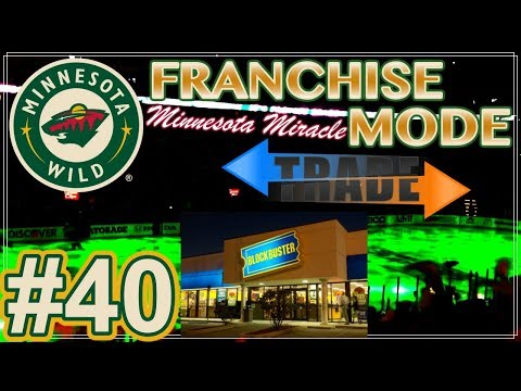 "NHL 18 Minnesota Wild Franchise Mode #40 ""THE TRADE"""