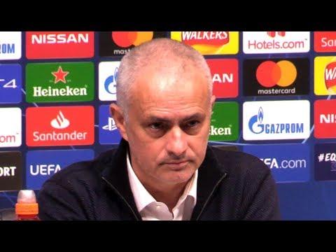 Tottenham 0-1 RB Leipzig - Jose Mourinho Post Match Press Conference - Champions League - SUBTITLES
