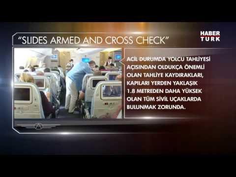"Uçaklardaki Sihirli Anons ""Cross Check"""