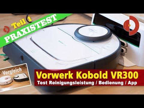 Vorwerk VR300 Test Roborock Vergleich Bauhohe Akku und