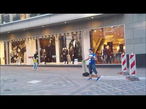 Dortmund, Germany---Christoph Kesberger--Street Preacher