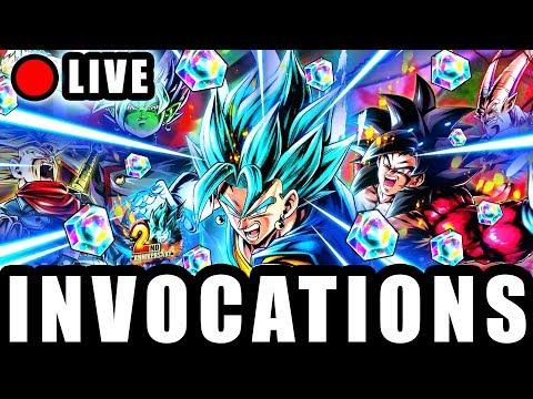 🔴 INVOCATIONS des 2 ANS DRAGON BALL LEGENDS !!!