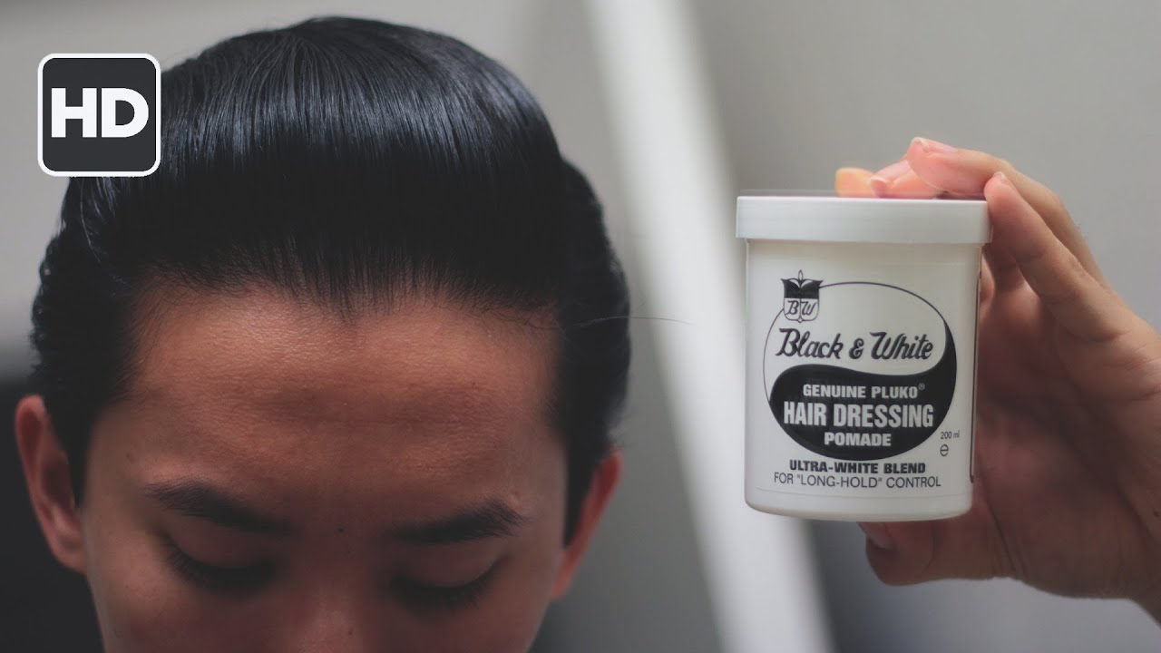 Black Amp White Hair Dressing Pomade Review Amazing For